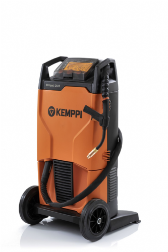 Kemppi Kempact RA 251R, 250A single phase 240v Mig Welder, with  GX253 Torch
